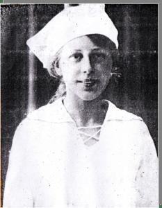 Мария Петровых.1922 год